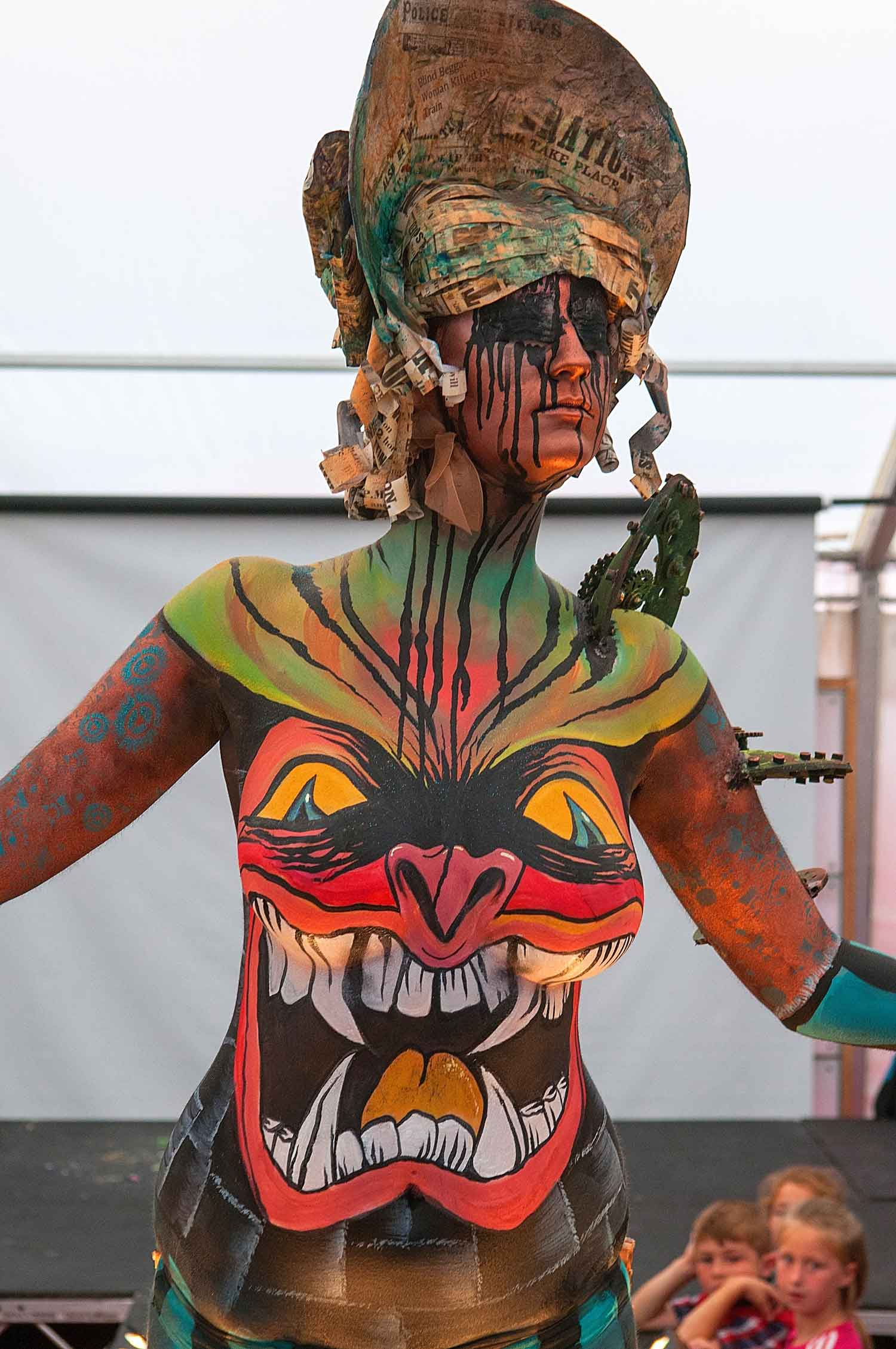 The Living Art Show Follies Face And Body Painters