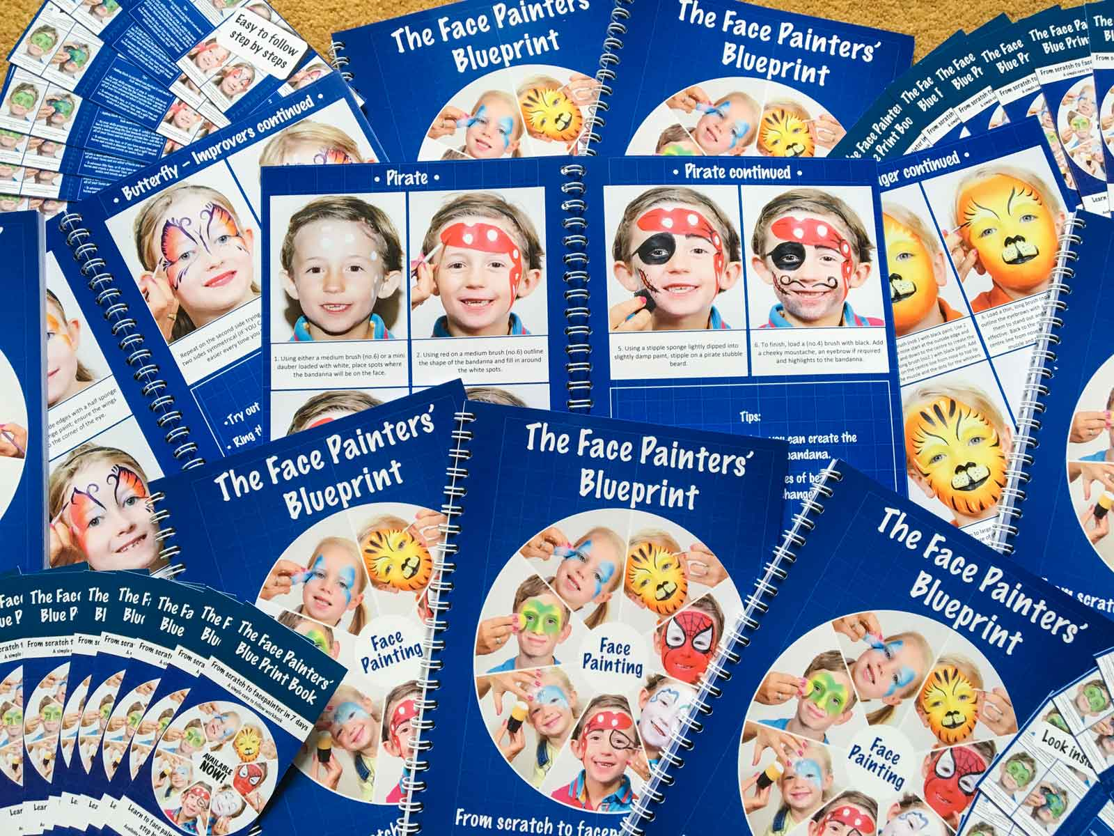 The Face Painters Blueprint Book
