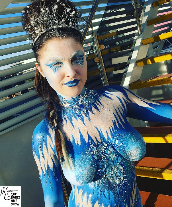 London Body Painting Photoshoot Follies Face And Body Painters