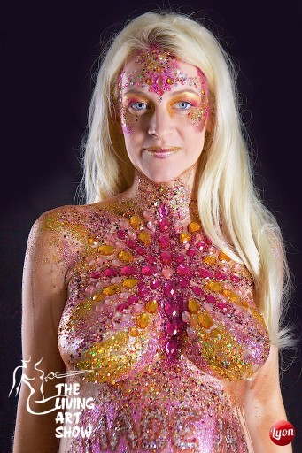 Festival Glitter And Body Art Class Follies Face And Body Painters