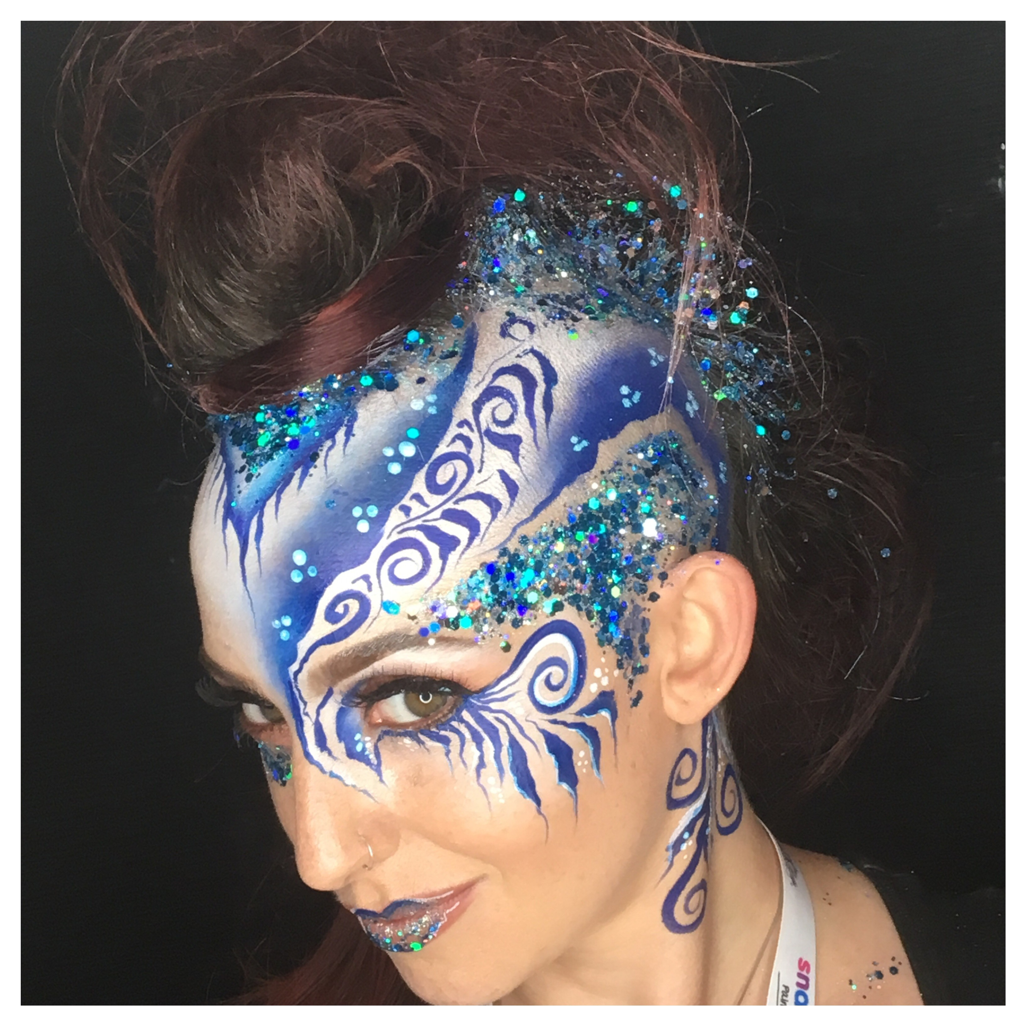 Glitter And Festival Make Up Follies Face And Body Painters