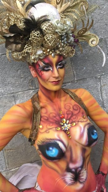 Goddess Body Paint Follies Face And Body Painters