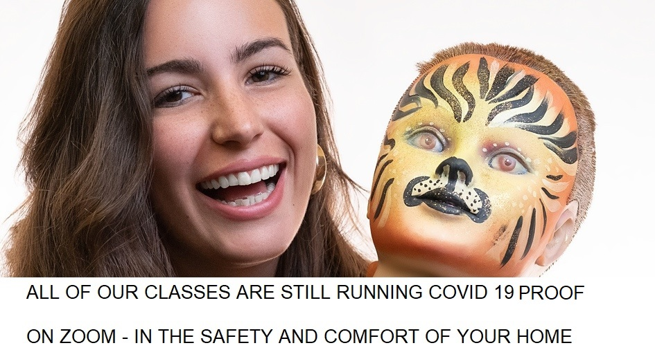 Face Painting And Body Painting Training Courses By Follies Follies Face And Body Painters